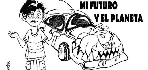 Mamá, el coche se ha comido mi pan, mi futuro y el planeta. Soy la última generación. ¿Qué me habéis hecho?