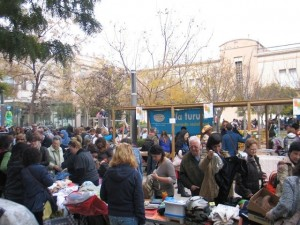 6º mercado de 2ª mano e intercambio en Vilanova i la Geltrú.