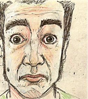 Alberto Campos. Autorretrato.