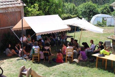 Foto do I Encontro de 'Mulheres em Transiçao' (Minho, Galiza, Junho de 2015)