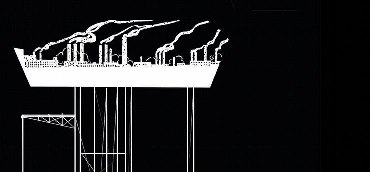 Antía Barba Mariño. Ilustración para o libro 'A Esquerda ante o colapso da civilización industrial' (fragmento).