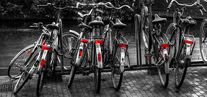 Bicicletas en Amsterdam. COPYRIGHT: Ander Aguirre