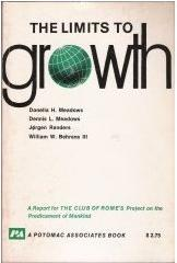 Portada de la 1ª edición del informe 'The Limits to Growth' (1972)