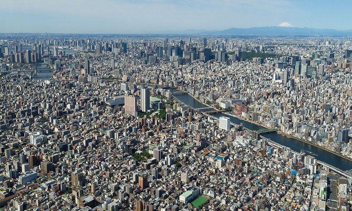 Vista de Tokyo - Na lógica da economia ortodoxa, a natureza seria substituível por produtos materiais.