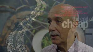 Pedro Prieto en un fotograma del documental 'La cruda realidad'