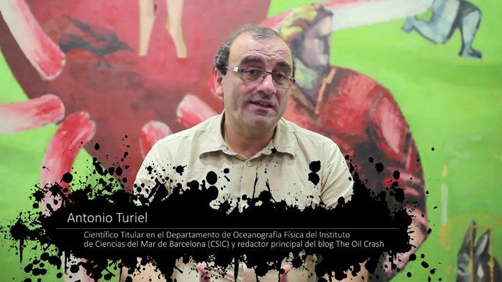 Antonio Turiel en un fotograma del documental 'La cruda realidad'.