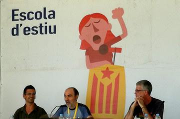 Escola d'Estiu de la CUP: Amb Miquel Tort, Manuel Casal i Sergi Saladié
