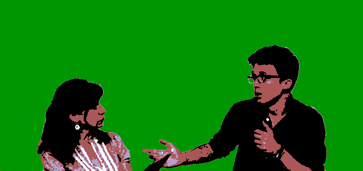 Debate entre Yayo Herrero e Íñigo Errejón, mayo de 2017