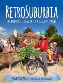 Portada del nuevo libro de Holmgren: Retrosuburbia