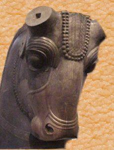 Escultura de un uro