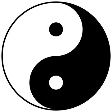 Taijitu (yin + yang)