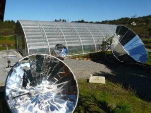 Motor Sunpulse Solar Stirling en Tamera, Portugal