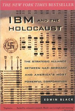 Portada del libro 'IBM and the Holocaust'