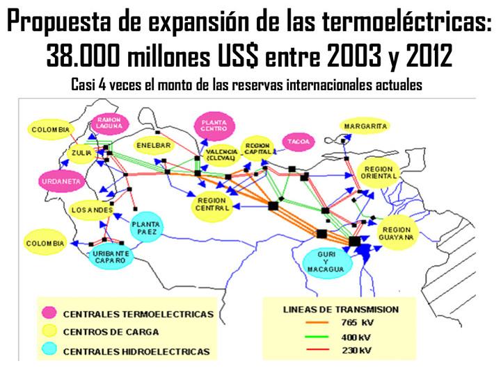 Nuevos proyectos termoeléctricos en Venezuela