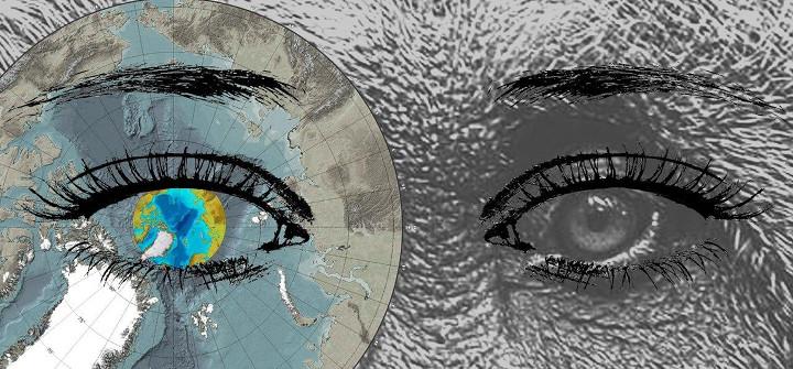 Mirada ártica. Ilustración: Ariadna Uve