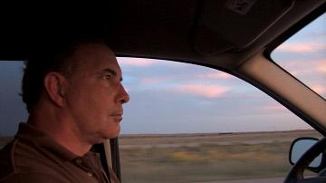 Jeff Gibbs en un fotograma de su documental.