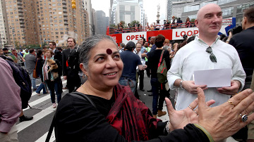 Vandana Shiva en 'Planet of the Humans'