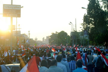 Manifestación contra Morsi en 2013