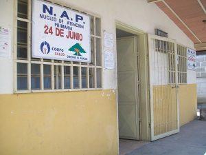 Núcleo de atención primaria de salud en la ciudad de Maracay, Venezuela.