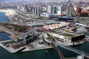 Vista aérea de Barcelona - Wikipedia