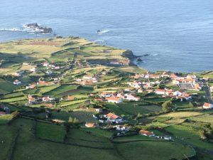 La Villa de Ponta Delgada, Flores, Azores.