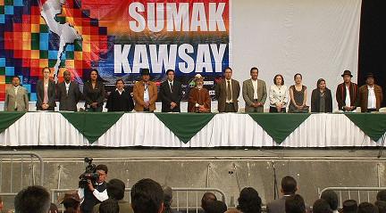 Primer Encuentro de los Pueblos y Nacionalidades Andinas por el Sumak Kawsay