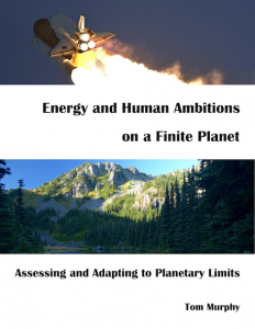 Energy and Human Ambitions on a Finite Planet